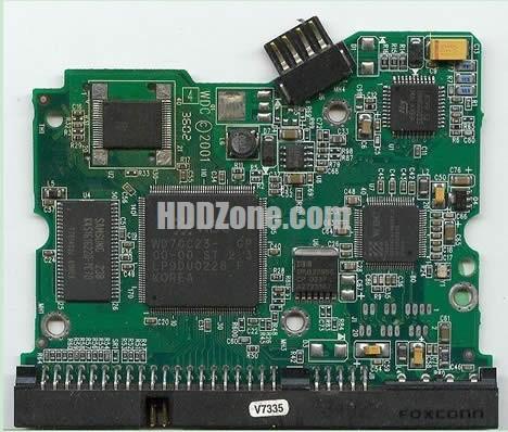 2060-001092-006 WD Harddisk kontrol devre mantık kartı