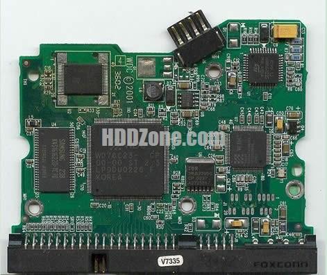 2060-001092-007 WD Harddisk kontrol devre mantık kartı