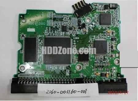 2060-001160-001 WD Harddisk kontrol devre mantık kartı