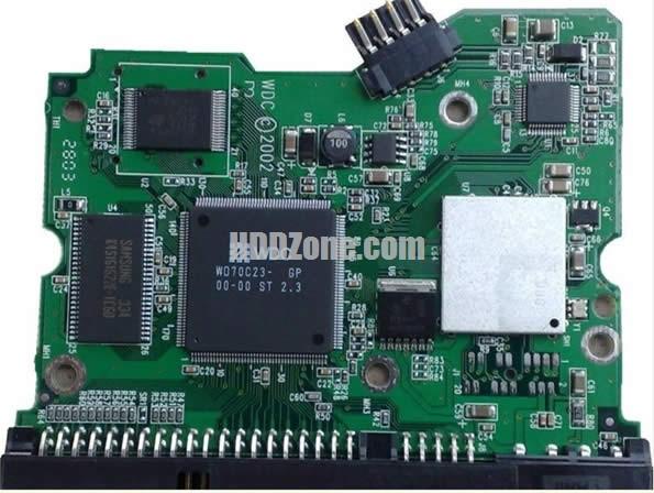 2060-001177-000 WD Harddisk kontrol devre mantık kartı