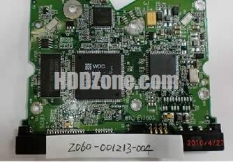 2060-001213-004 WD Harddisk kontrol devre mantık kartı