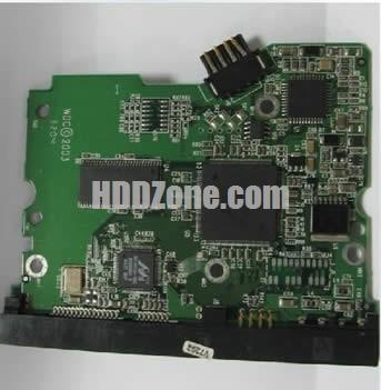 2060-001252-000 WD Harddisk kontrol devre mantık kartı