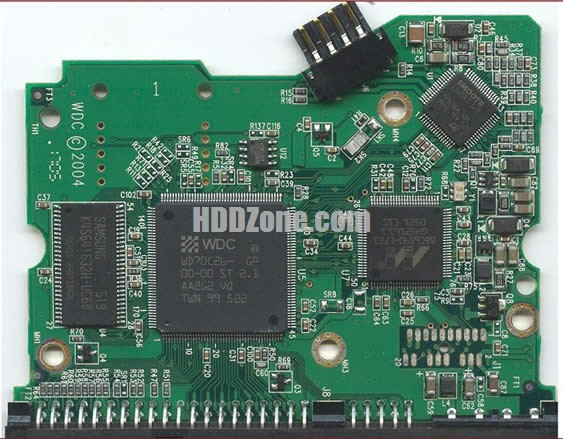 2060-001266-000 WD Harddisk kontrol devre mantık kartı