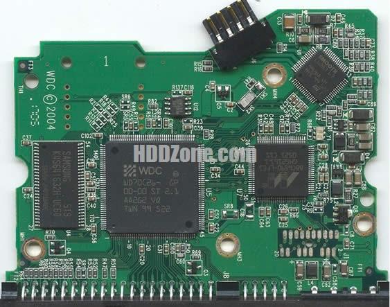 2060-001266-001 WD Harddisk kontrol devre mantık kartı