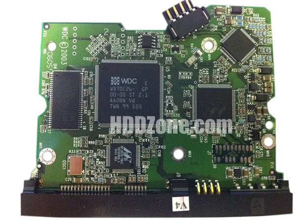 2060-001267-001 WD Harddisk kontrol devre mantık kartı
