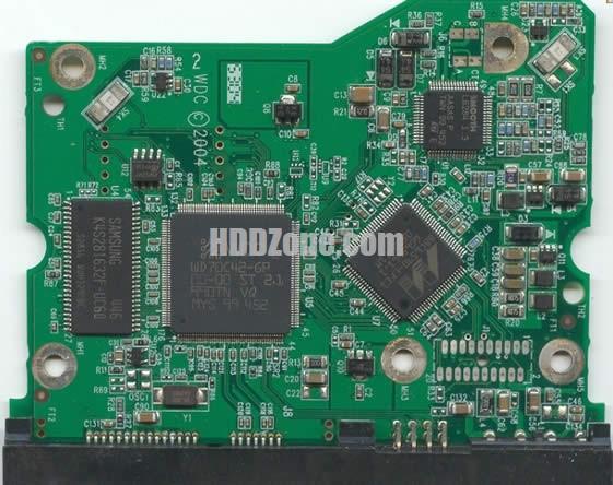 2060-001293-000 WD Harddisk kontrol devre mantık kartı