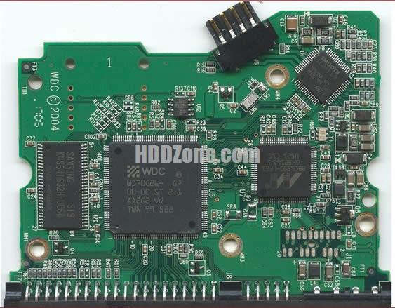 2060-701266-001 WD Harddisk kontrol devre mantık kartı