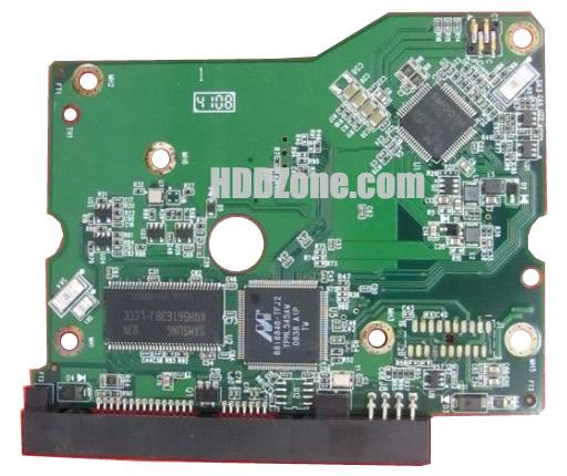 2060-701595-000 WD Harddisk kontrol devre mantık kartı