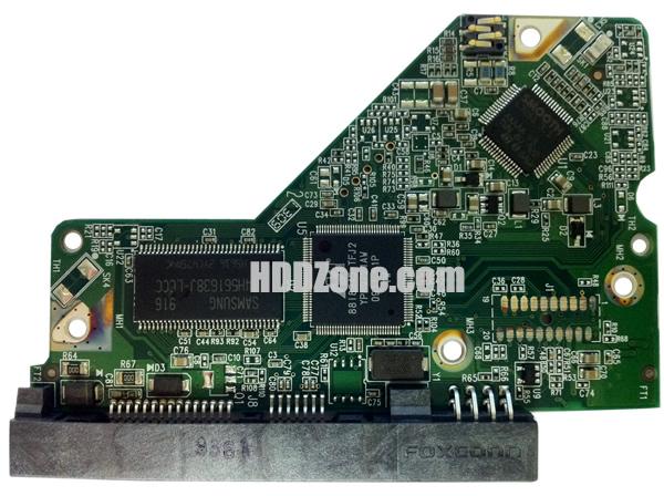 2060-701607-000 WD Harddisk kontrol devre mantık kartı