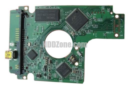 2060-701615-003 WD Harddisk kontrol devre mantık kartı