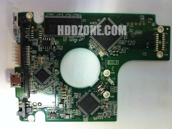 2060-701650-000 WD Harddisk kontrol devre mantık kartı