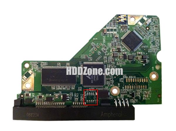 2060-771590-001 WD Harddisk kontrol devre mantık kartı