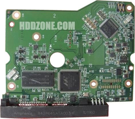 2060-771624-001 WD Harddisk kontrol devre mantık kartı