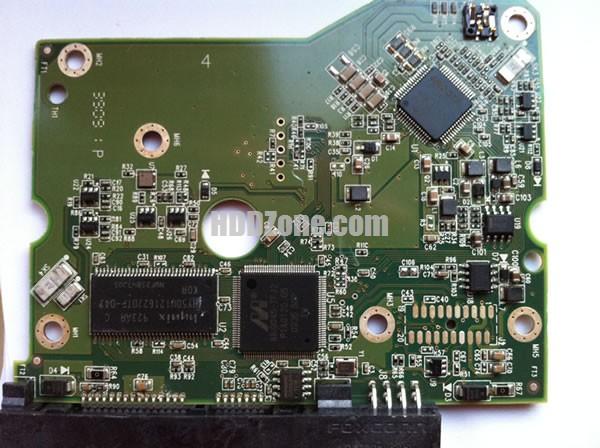 2060-771624-003 WD Harddisk kontrol devre mantık kartı