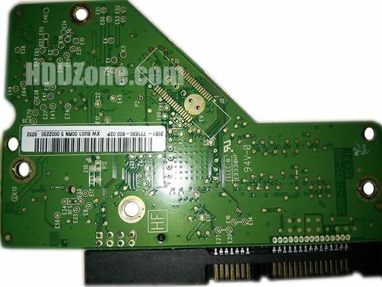 2060-771630-000 WD Harddisk kontrol devre mantık kartı