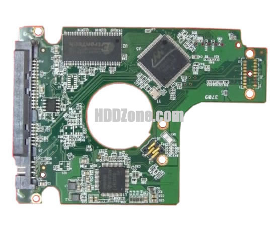 2060-771672-004 WD Harddisk kontrol devre mantık kartı