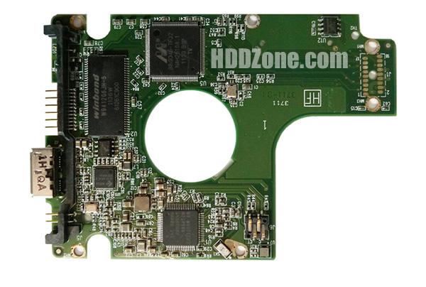2060-771801-002 WD Harddisk kontrol devre mantık kartı