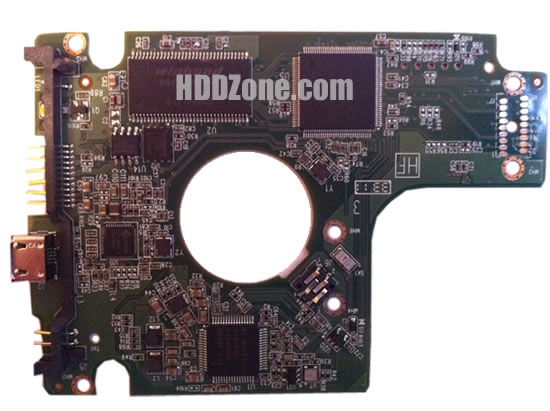 2060-771817-001 WD Harddisk kontrol devre mantık kartı
