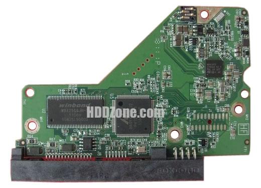 2060-771818-000 WD Harddisk kontrol devre mantık kartı
