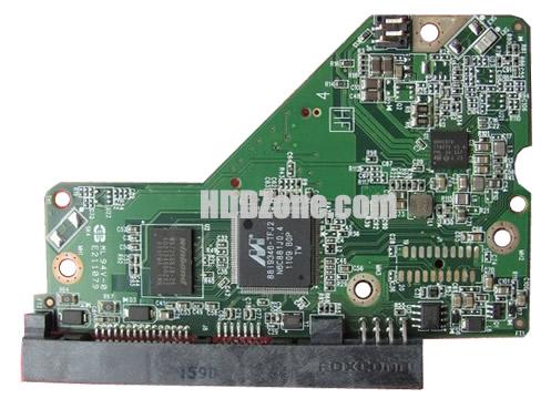 2060-771824-000 WD Harddisk kontrol devre mantık kartı