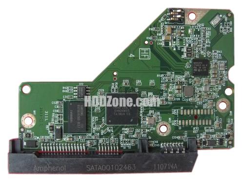 2060-771829-000 WD Harddisk kontrol devre mantık kartı