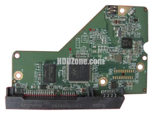 2060-771853-000 WD Harddisk kontrol devre mantık kartı
