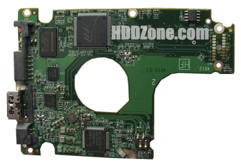 2060-771859-000 WD Harddisk kontrol devre mantık kartı