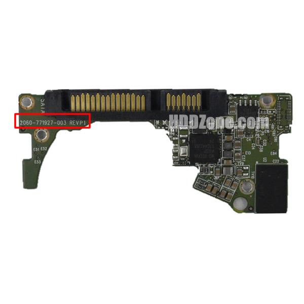 2060-771927-003 WD Harddisk kontrol devre mantık kartı