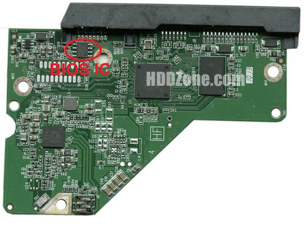 2060-771945-000 WD Harddisk kontrol devre mantık kartı