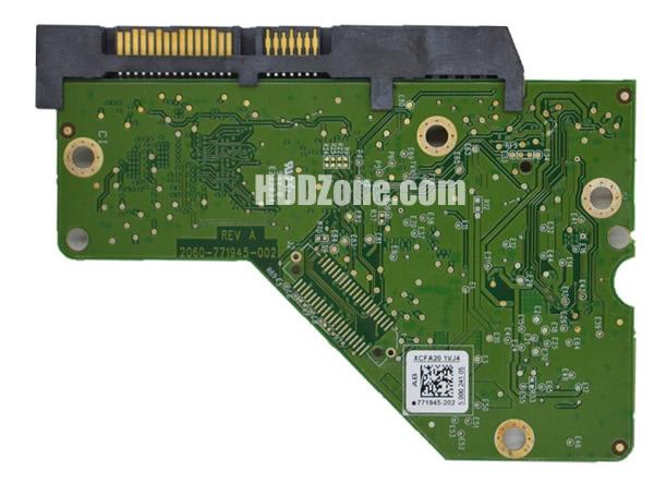 2060-771945-002 WD Harddisk kontrol devre mantık kartı