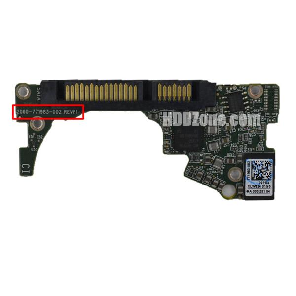 2060-771983-002 WD Harddisk kontrol devre mantık kartı