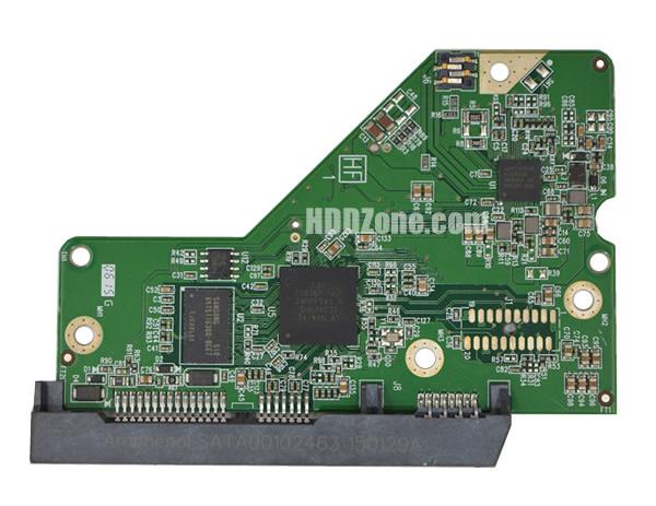 2060-800006-001 WD Harddisk kontrol devre mantık kartı
